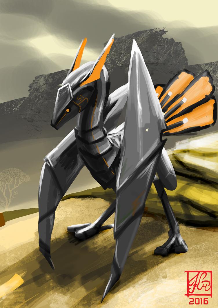Desert Crawler by Khanorn