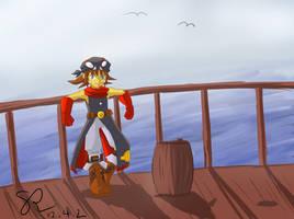 Pirate Django (DS) colored by ScarletReisen