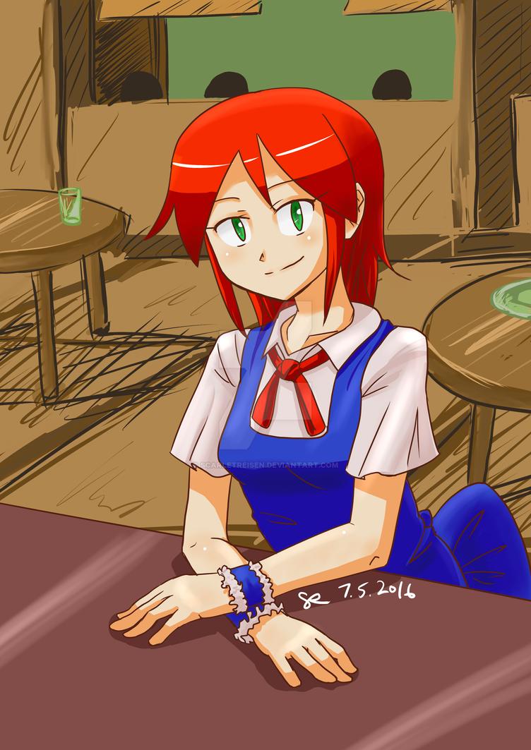 Hana Maid by ScarletReisen