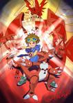Digimon Tamers Takato and Guilmon