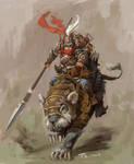 Giant rat cavalry
