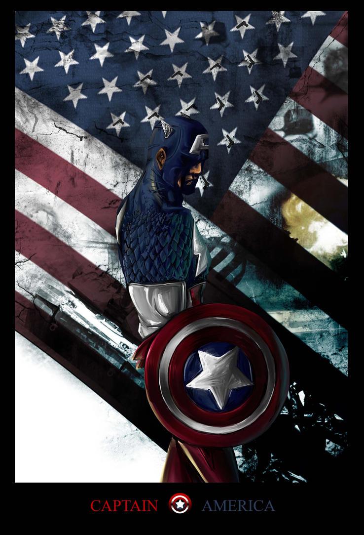 CAPTAIN AMERICA by herobaka