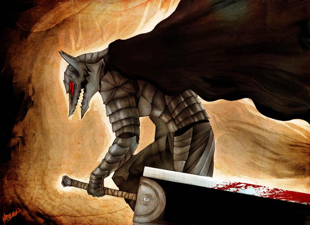 how to draw berserker armor