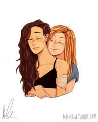 Clexa Hug