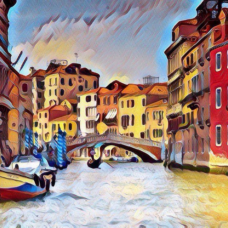 Venice italy pop art style by cibervlacho on deviantart for Venice craft fair 2017