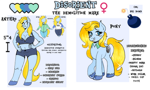 Ponysona Reference - 2018 Update by PoneBooth