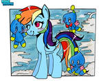 Rainbow Dash and the Chao