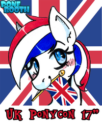 Ukponycon Sticker by PoneBooth