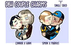 DBH Couple Charms by PoneBooth