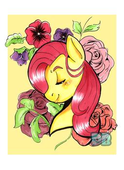 Fluttershy Portrait