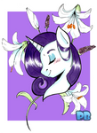 Rarity Portrait by PoneBooth