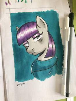 Maud Pie Portrait