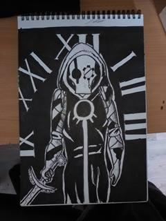 Nox Inktober by alexthepumpkin