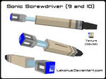Low-Poly Sonic Screwdriver