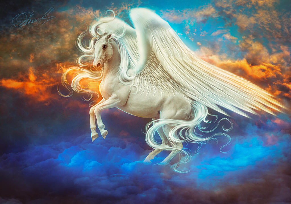 Pegasus By Irina-Ponochevnaya On DeviantArt