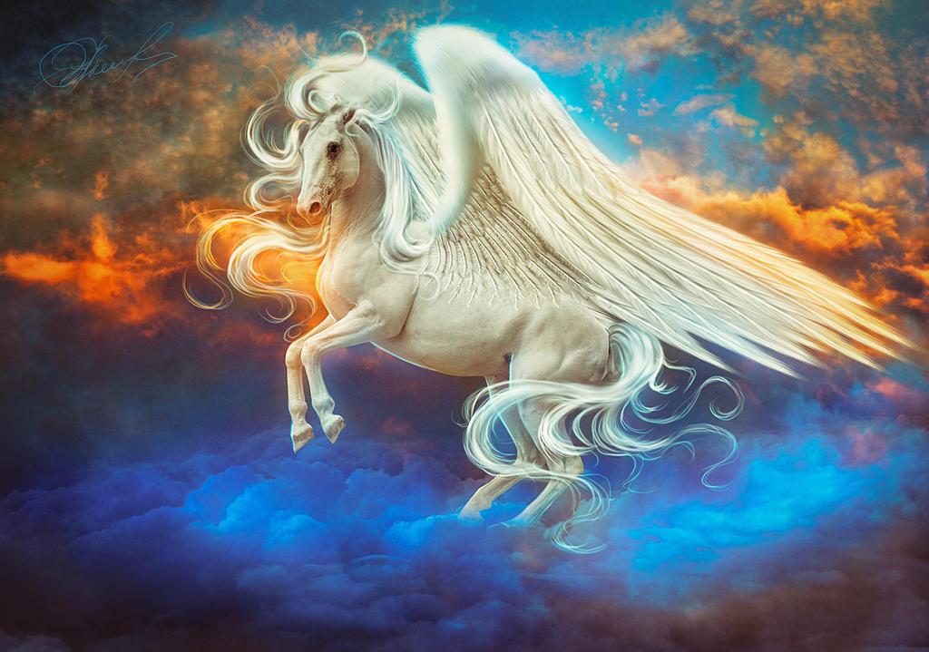 Pegasus by Irina-Ponochevnaya on DeviantArt: irina-ponochevnaya.deviantart.com/art/Pegasus-532775971