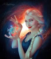 Elsa Portrait by Irina-Ponochevnaya