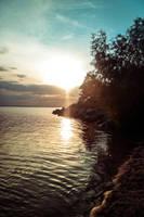 sunset by Irina-Ponochevnaya