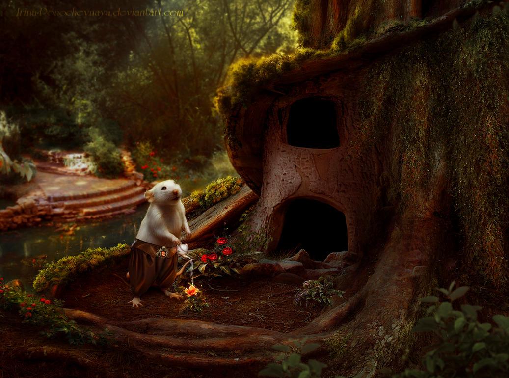 Little gardener by Irina-Ponochevnaya