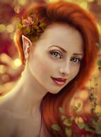 freckle Dora by Irina-Ponochevnaya