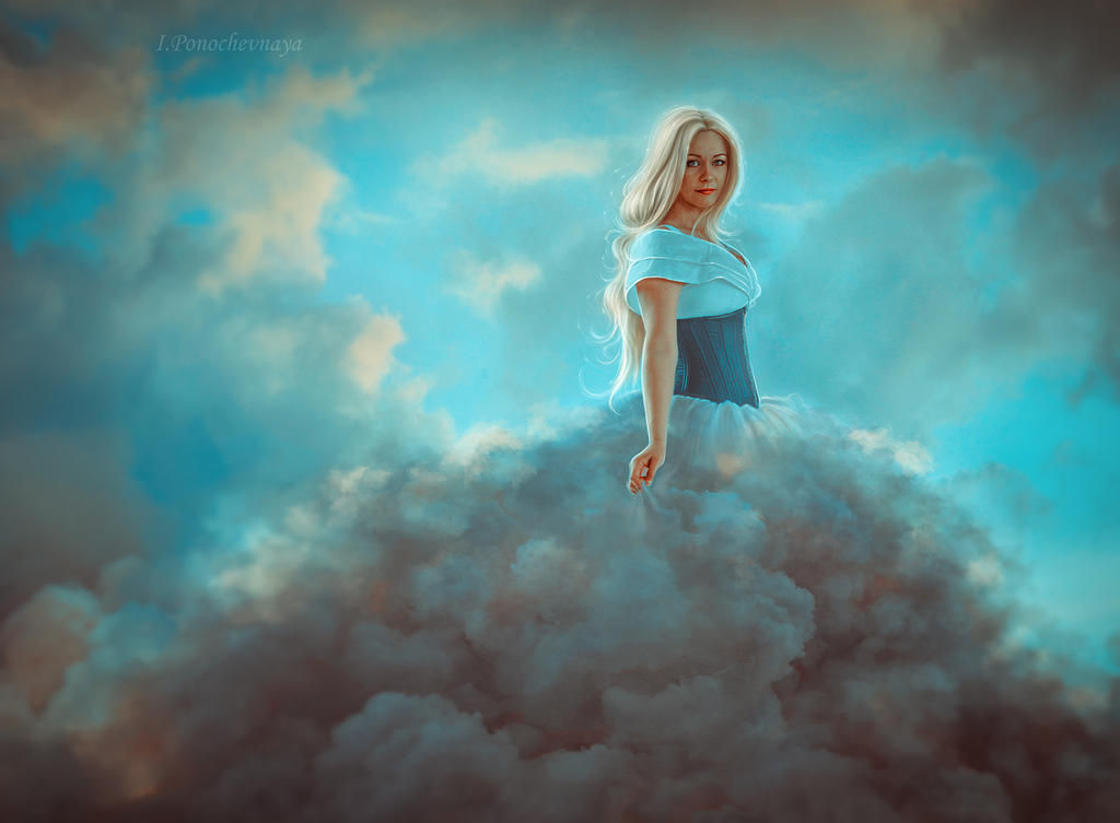 celestial fantasy by Irina-Ponochevnaya