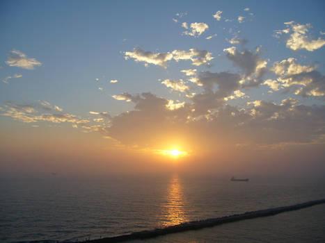 Sunset 25 Feb 2006
