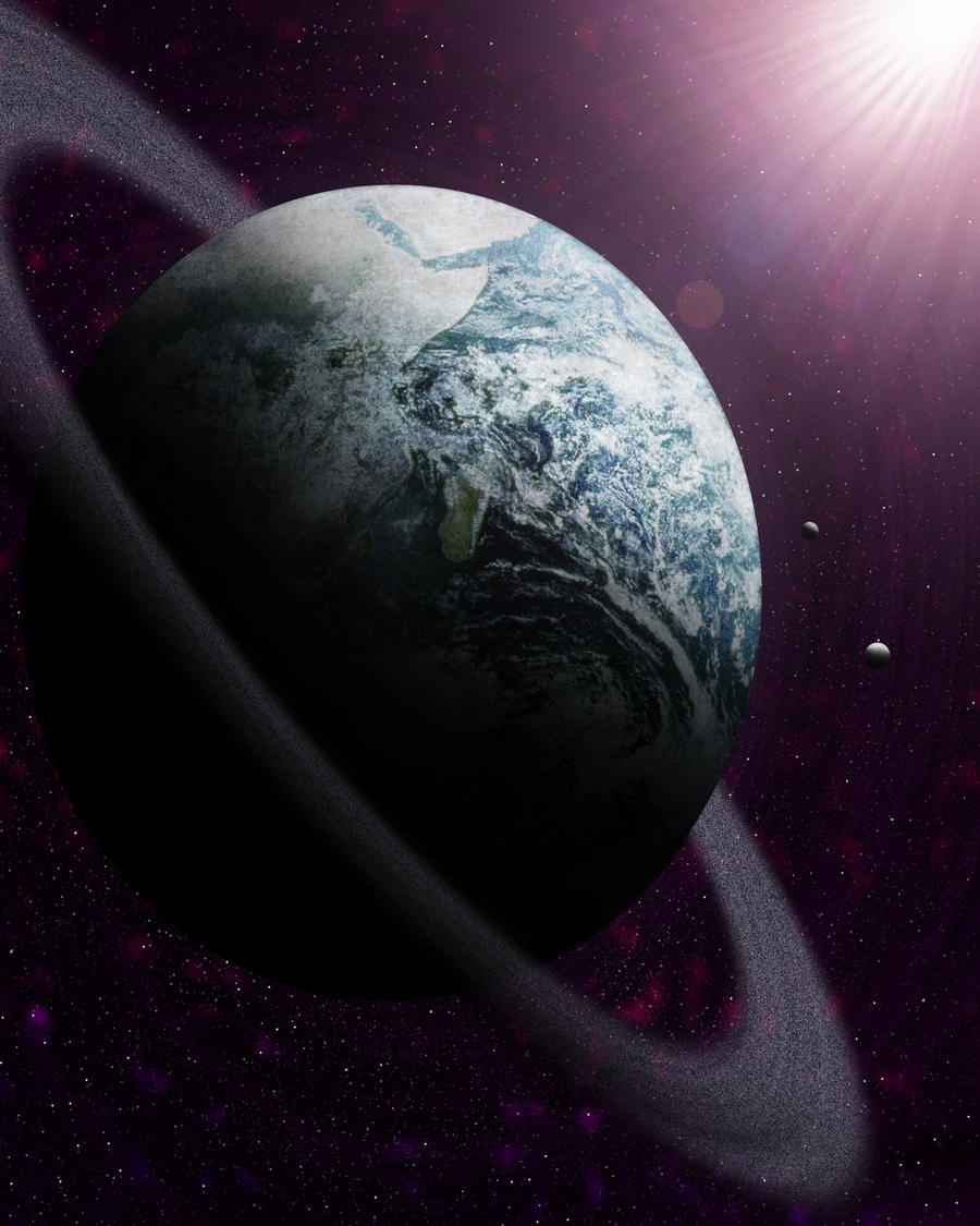 Earth's doppelganger. by zherz0709