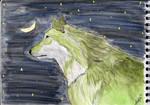 Present : green wolf