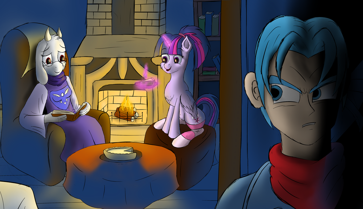twilight__toriel_and_trunks_by_cluvry-da