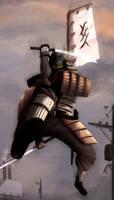 Samurai by atomicsandwich