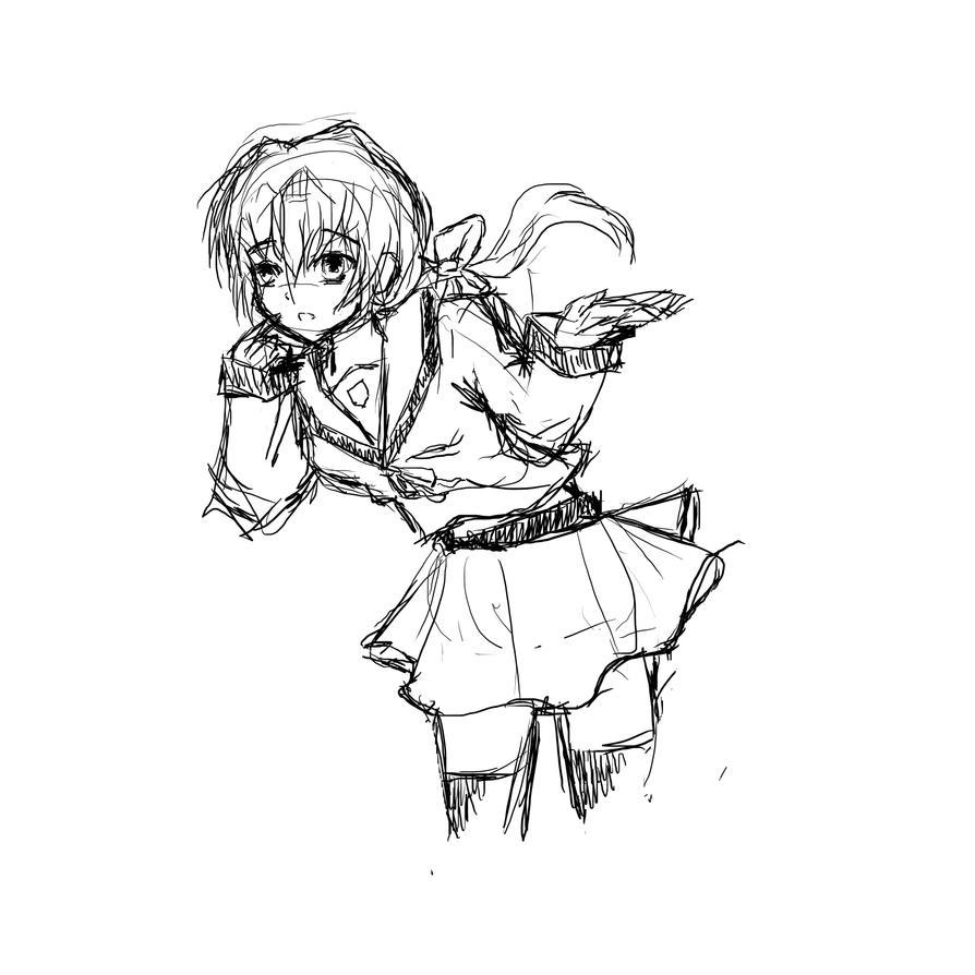 Sketch 01 by SkyhighPink