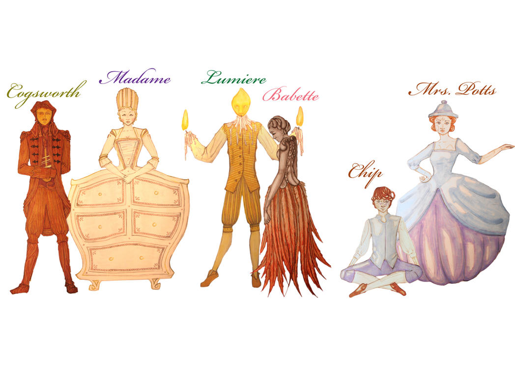 Beauty And The Beast Character Names