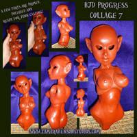 BJD Progress Collage 7 by briescha