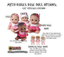 Myth-Babies: Lil' Cutesies Base Doll Options by briescha