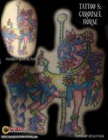 Tattoo 8: Carousel Horse by briescha