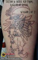 Tattoo 9: Skull Kid from Legend of Zelda, Sess. 1 by briescha