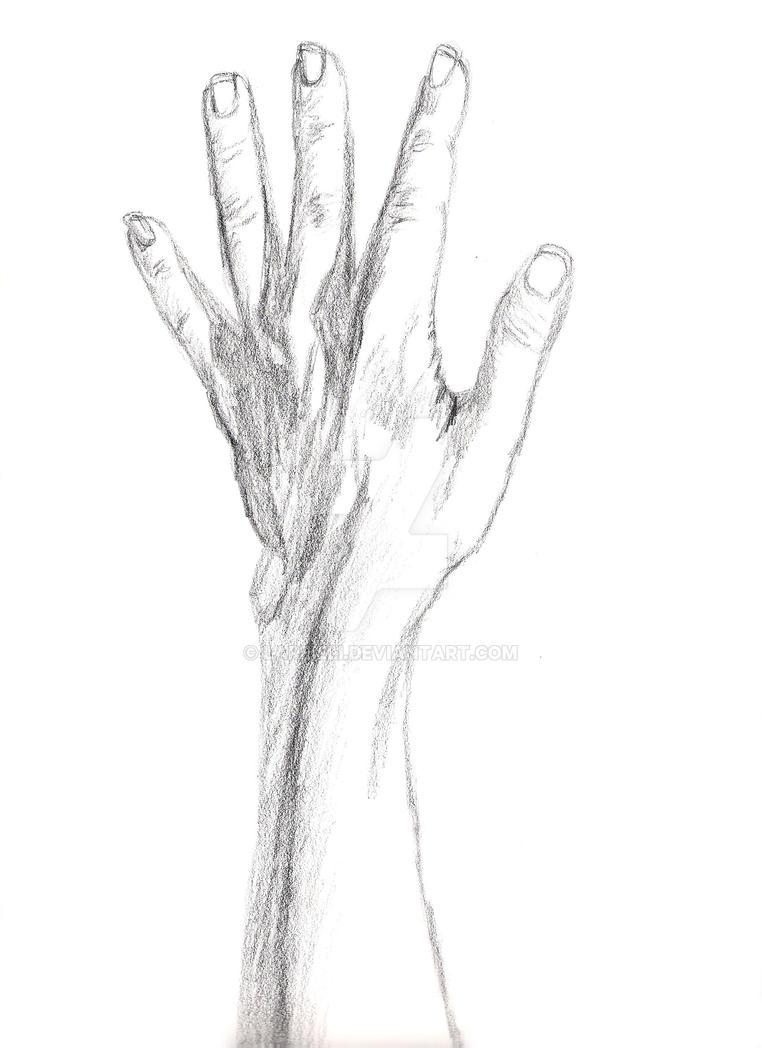 Left Hand by Lareieli