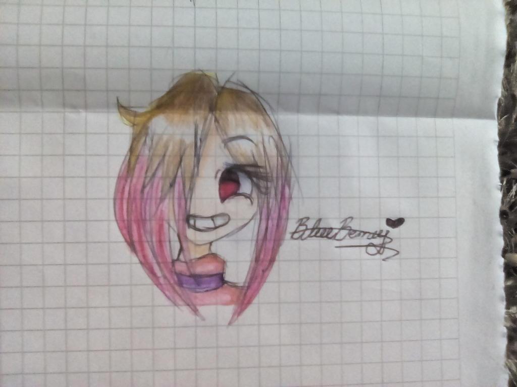 Fan Art  de Betty, glitchtale by FriskBloddyPainter