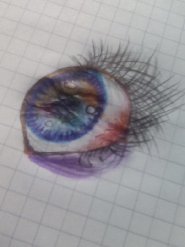Un ojo :v by FriskBloddyPainter