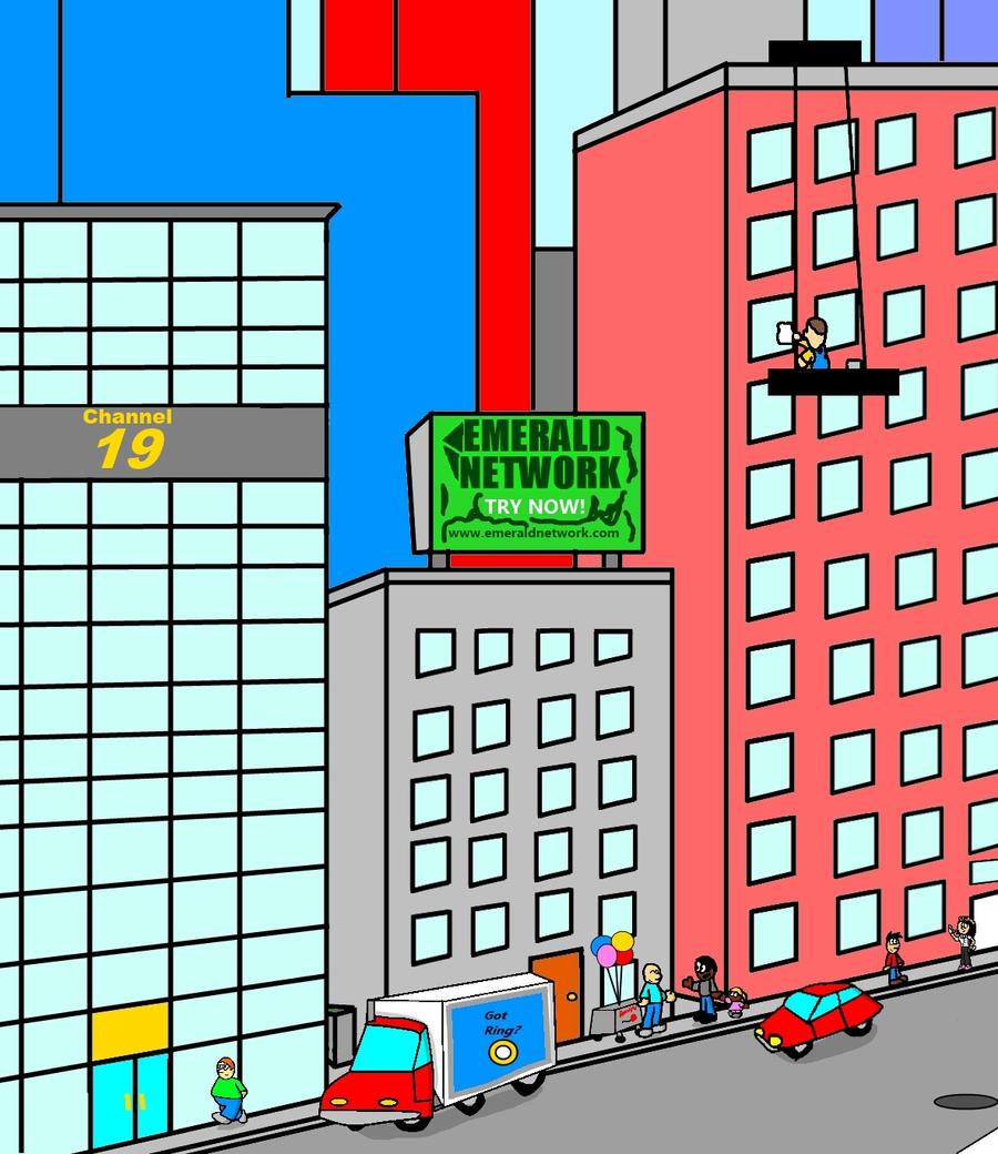 clip art city street - photo #20