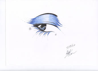 Winter Eye-Requested by SkiLLusHi