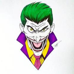 Joker colored