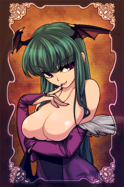 morrigan by niwaso