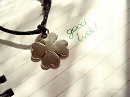 Luck! by AlliDzi