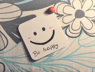 Be happy by AlliDzi