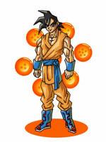 Son Goku  by Leonidas666