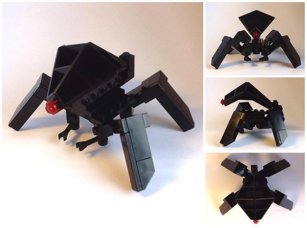 Alien Invader Spider Drone by Leonidas666