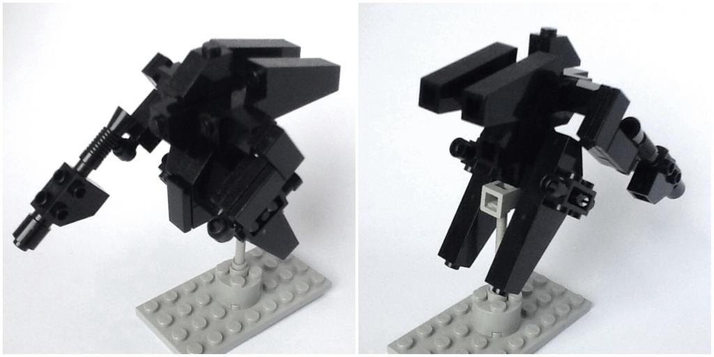 Small Lego Mecha by Leonidas666