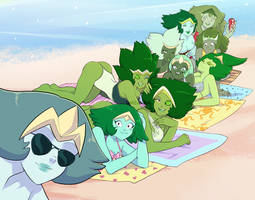 Famerald at the beach by UnicaGem