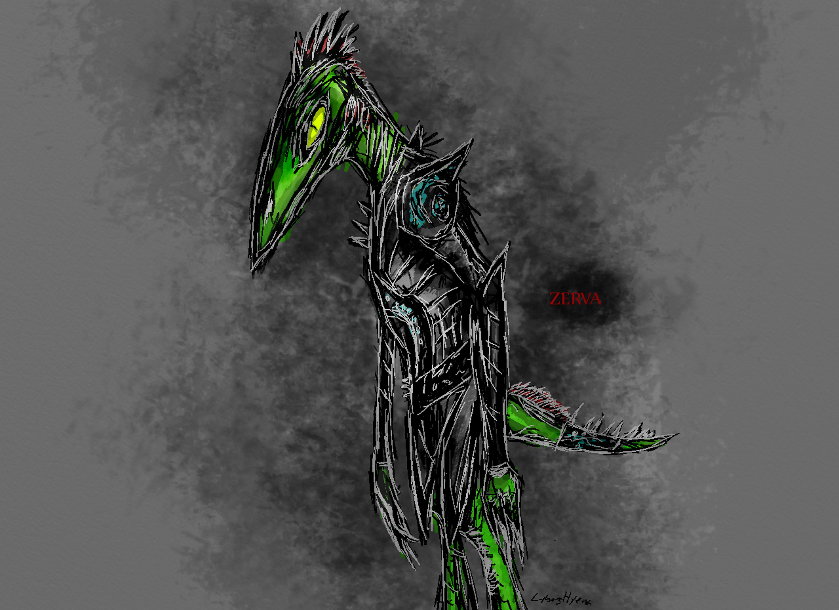 Zerva Soldier by cyborghyena